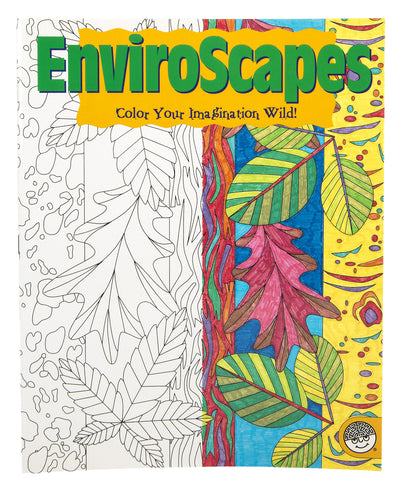 Enviroscapes Color Your Imagination Wild Colouring Book