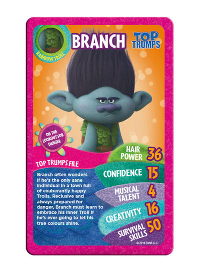 Trolls Top Trumps
