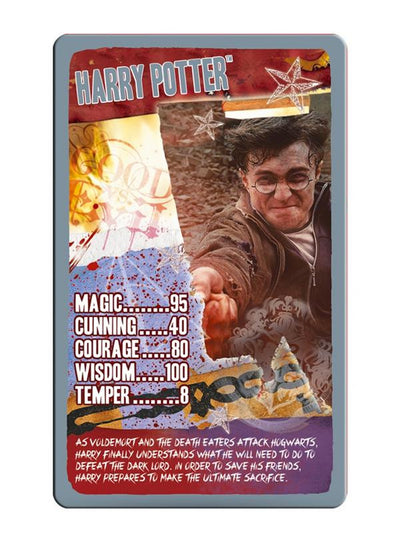 Harry Potter and The Deathly Hallows Part 2 Top Trumps