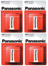 4x MN1203 PANASONIC 4.5V Battery 3LR12 1289 LANTERN Battery 3R12