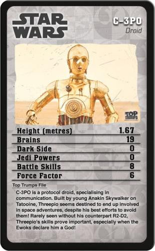 Star Wars Episodes 4-6 Top Trumps