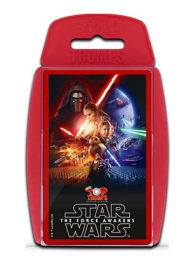 Star Wars The Force Awakens Top Trumps