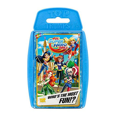 DC Super Hero Girls Top Trumps