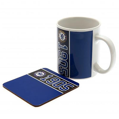 Chelsea Mug and Coaster Gift Set
