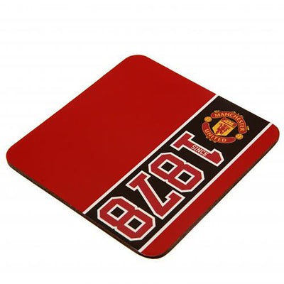 Manchester United Mug and Coaster Gift Set