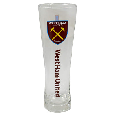 West Ham Pint Glass - Wordmark