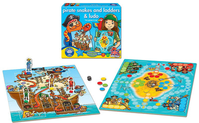 Pirate Snakes and Ladders & Ludo Game