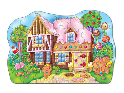 Gingerbread House Jigsaw Puzzle