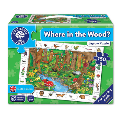 Where in the Wood? Jigsaw Puzzle