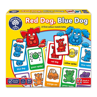 Red Dog Blue Dog Board Game