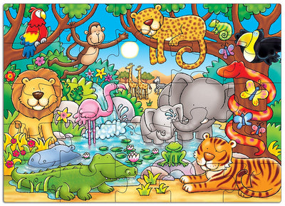 Who's in the Jungle Jigsaw Puzzle