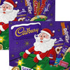 Cadbury's 8 x Assorted Chocolate Santa Selection Box Christmas 169g