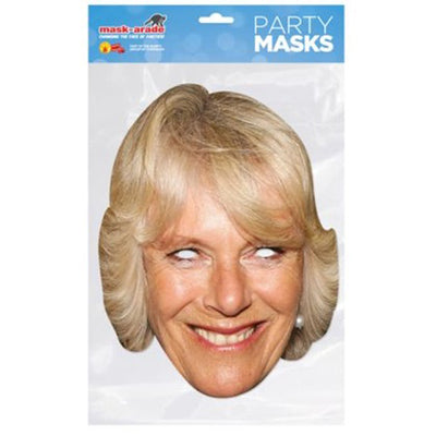 Royal Family Face Mask Celebrity Party Hen Stag Du Masks Fun British