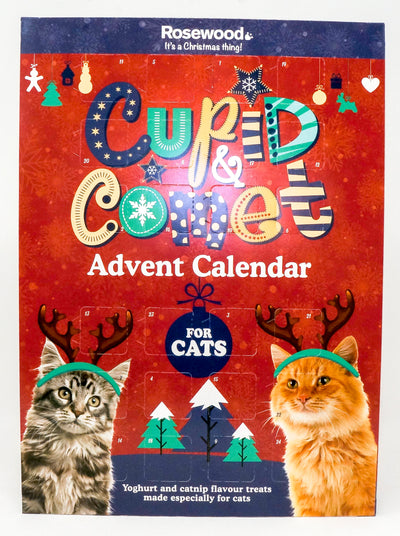 Rosewood Cupid & Comet Cats or Dogs Christmas Advent Calendar Pet Food