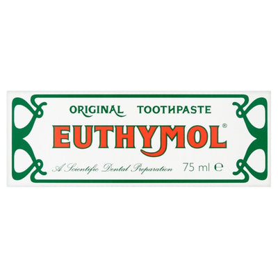 Euthymol Original Toothpaste Scientific Dental Preparation Anti 75ml