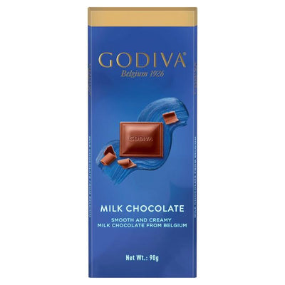 Godiva Pure Milk Chocolate Bar 90g