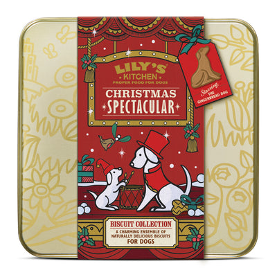 Lily's Kitchen Christmas Biscuit Selection Box for Adult Dogs 252g Pet
