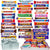 5-60 Mega Huge Chocolate Multi Pack Assorted Gift Box Bars