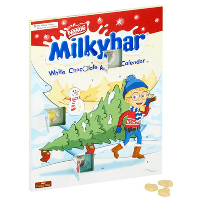 Milky Bar White Choc Advent Calendar 24 Days Count Down Christmas