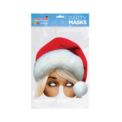 Christmas Party Fancy Dress Masks Fun Celebration Santa Claus Elf Turk