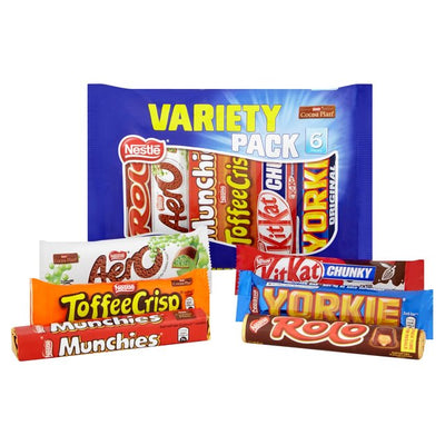 Nestle Chocolates Selection Varieties of Chocolates Collections