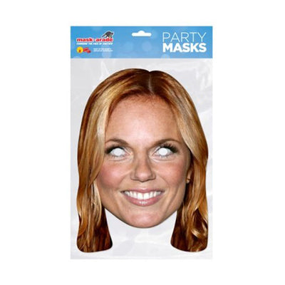 Popstar Celebrity Face Mask Fancy Dress Party Spice Girls Queen Rock
