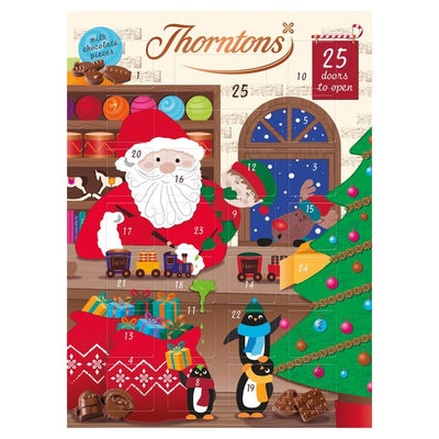 Thorntons Chocolate Selection Gift Christmas Pack Advent Calendar