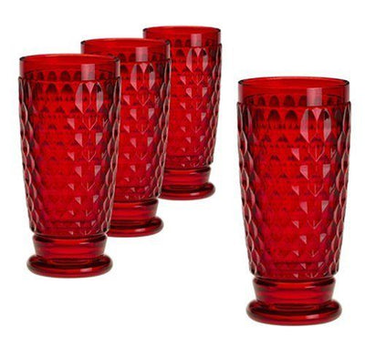 Villeroy & Boch - Glass Highball Tumbler 400ml Boston Red Glassware