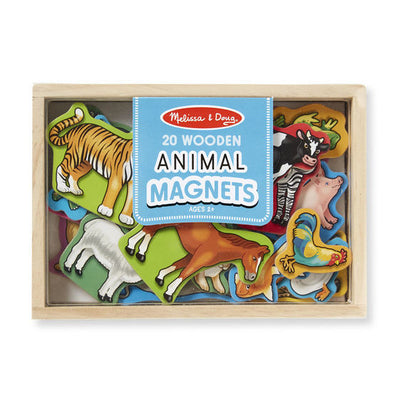 Melissa & Doug - Wooden Animal Magnets