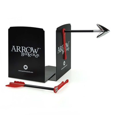Arrow magnetic bookends