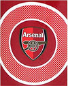 Arsenal Bullseye Blanket