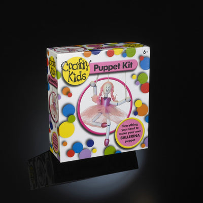 Arts & Crafts - Ballerina Puppet Kit