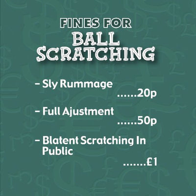 Instant Fines Pay Up Tin - Ball Scratching
