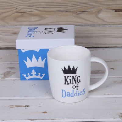 Father's Day Gift with Batman Bowl, King of Daddies Mug & Liquorice