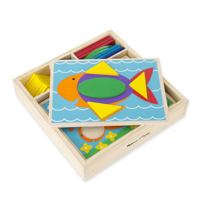 Melissa & Doug - Beginner Pattern Blocks