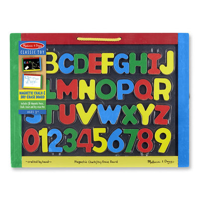 Melissa & Doug - Magnetic Chalkboard and Dry-Erase Board