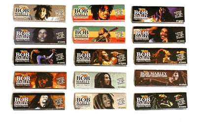 Bob Marley Pure Hemp Rolling Papers - 50 Booklets
