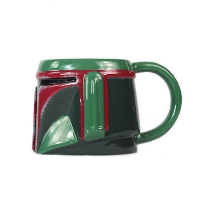 Star Wars Boba Fett Shaped Mug