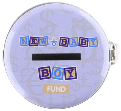 Instant Fines Pay Up Tin - New Baby Boy