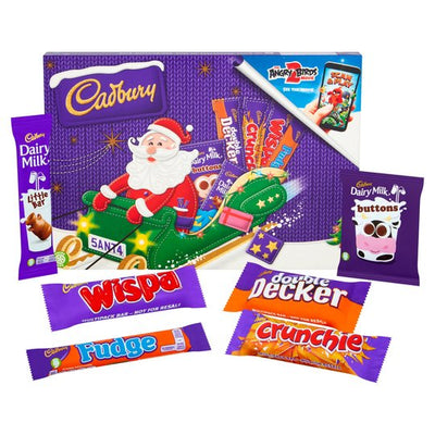 Cadbury Mega Christmas Chocolate Selected Box Tub Cake Tin Advent Calendar Tree Santa