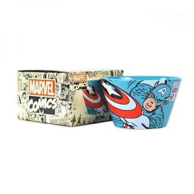 Father's Day Gift Set - Captain America Bowl, Mug, Ferrero & Walkers