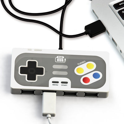 Superhub Play Hub Controller - USB 2.0 Hub 4-Port Universal