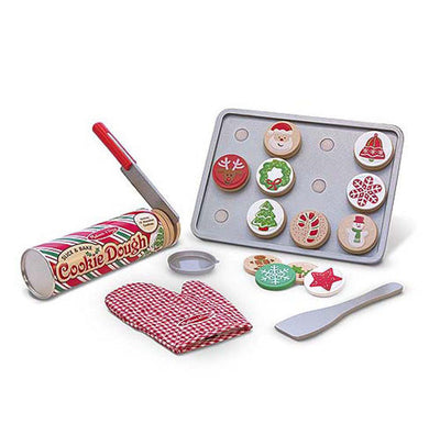 Melissa & Doug - Slice & Bake Christmas Cookie Set