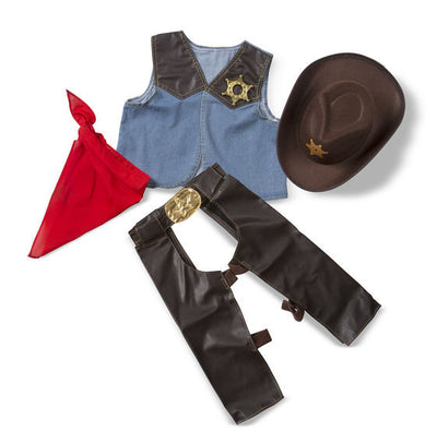 Melissa & Doug - Cowboy Role Play Costume Set
