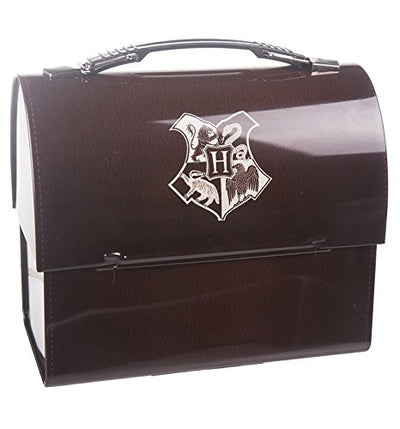 Harry Potter Domed Tin Tote - Hogwarts Crest
