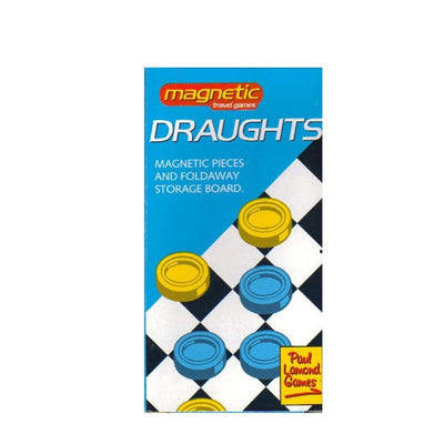 Magnetic Draughts Travel Game