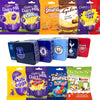 Easter Egg Football Tins Team Storage + 4 Easter Eggs Chocolate Bags