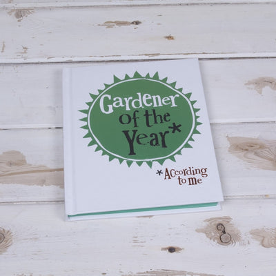 The Bright Side - Gardener Of The Year Notebook