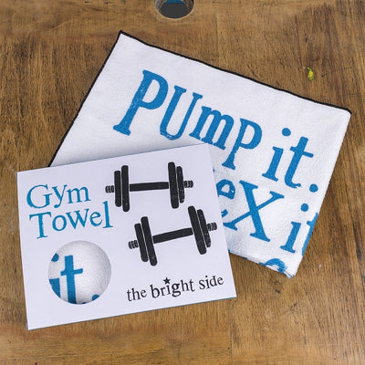 The Bright Side Gym Towel