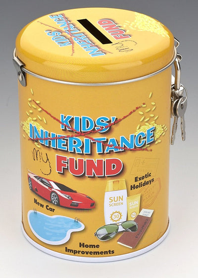 Instant Fines Pay Up Tin - Kids Inheritance